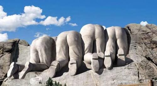 back of mt rushmore